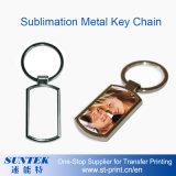Trousseau de clés en métal de sublimation de DIY/presse chaleur de porte-clés
