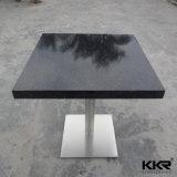 Белый искусственний каменный журнальный стол