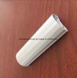 Quadrat, rundes, unterschiedliches Aluminiumlegierung-Strangpresßling-Profil für Tür und Fenster-Gefäß 38