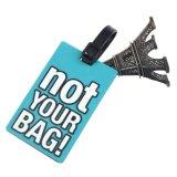 [وهولسل بريس] مطّاطة فانكي سفر حقيبة علامة مميّزة شريط حقيبة اسم [إيد] يحدّد عنوان حقيبة بطاقات ([يب-ت-006])