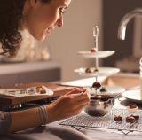 Chocolate de acero inoxidable calefacción cocción Tazón de fusión