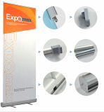 Aluminium de haute qualité Double côté Flex L Roll up Stand Stand de bannière