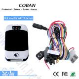 Perseguidor del GPS del coche de Coban con el sistema cerrado motor Tk303h del monitor del combustible