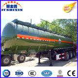 3 ESSIEUX 33000L réservoir en acier au carbone/camion citerne semi-remorque du tracteur pour l'-Corrosive-Liquid