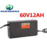 60V12ah電気自転車および自動車に使用するスマートな鉛酸蓄電池の充電器