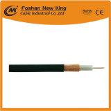 1,02mm de cobre o conductor CCS Cable coaxial RG6 con mermelada (inundaciones compuesto)