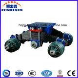 China-Blockwagen-Aufhebung/halb Schlussteil-Blockwagen/trommelartiger/des Armkreuz-Type/BPW Blockwagen
