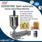 Halbautomatische pneumatische Füllmaschine für Yougurt (G2WGD1000)