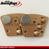 Инструмент для снятия покрытия трапецеидального шлифовальный башмак 1/2 PCD пластины шлифования