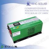 Sistema Solar onda senoidal pura 1000W Inversor Solar