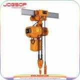 Grue électrique d'élévateur 3 tonnes, grue d'élévateur de monorail de 10 tonnes, élévateur à chaînes électrique