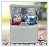 小さい旅行手持ち型のクーラーによって絶縁される袋
