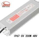 Alimentazione elettrica costante di tensione LED di Smun Smv-200-48 200W 48VDC 4A