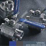 Rosca NPT o fabricante de la válvula de bola de BSP