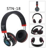 Baß-Stereostirnband Bluetooth über hellen Kopfhörer-Kopfhörern des Ohr-LED