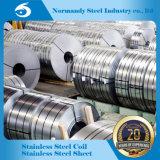 Fabricante de qualidade elevada 201 Hr/Cr Tira de aço inoxidável