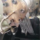 Рр пленки PE силы со стороны наклонной камеры два шага машины Granulation экструдера