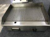 Gauffreuse de table électrique d'acier inoxydable de restaurant pour la crêpe