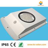 6W LED intégrée Lumière solaire de jardin avec capteur de du corps humain