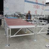 Высококачественный алюминиевый коврик доведения этапе платформы
