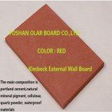 O cimento reforçado com fibra Board-External revestimento colorido, fachada com amianto livre