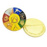 Moneta militare personalizzata del metallo 3D dell'argento dell'oggetto d'antiquariato di alta qualità per il ricordo (CO37-B)