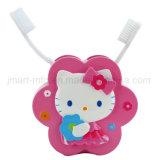Support de brosse à dents de gosses avec le dessin animé mignon pour des produits de Gargle de salle de bains
