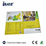 ¡Precio de fábrica! ¡! ¡! ¡! Las nuevas tarjetas video del LCD de 7 pulgadas con las tarjetas del alto calidad/video venden al por mayor