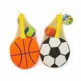 Juguete del juego del deporte para el agua o la playa, raqueta de Swob del tenis con las bolas