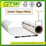 100 GSM Papier Transfert par sublimation thermique pour l'impression jet d'encre