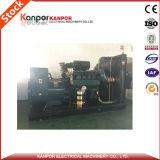 Doosan 320kw/400kVA는 판매를 위한 주식에 있는 유형 디젤 엔진 Genset를 연다