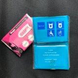 1/24 Dobrar Carteira higiénicos descartáveis Pack capas de banco de toucador