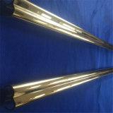 Теплового сопротивления золотым покрытием двойной трубы из кварцевого стекла для инфракрасной лампы обогрева