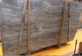 De natuurlijke Marmeren Tegels van de Travertijn van de Steen Zilveren Grijze voor de Binnenlandse Muur van de Vloer