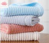 Tovagliolo promozionale e personalizzato 100% dell'hotel del tovagliolo di bagno del tovagliolo di fronte del cotone