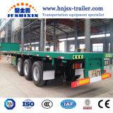 Largement utilisé à col de cygne lit plat Cargo semi-remorque de camion