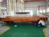 Industria di metallo Using il carrello a base piatta elettrico della guida