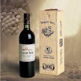 Caja de madera del vino, embalaje del vino, exhibición del vino (WA-038)