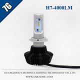 Kit 35W 4000lm del faro dell'indicatore luminoso H7 LED dell'automobile di Lmusonu 7g 12V 24V LED