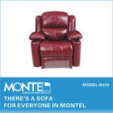 O mecanismo de reclinação Levante cadeira, poltrona reclinável italiano sofá de couro (R42)