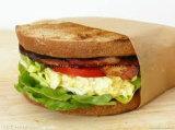 papel de embalaje revestido de la hamburguesa del PE 50+10g