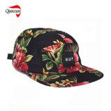 ハワイプリント5パネルのキャンプの帽子