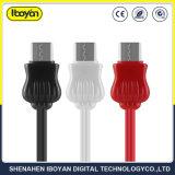 Kundenspezifischer schnell aufladentyp-cc$c Handy-Daten USB-Kabel