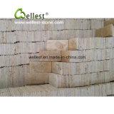 Pietra per lastricati esterna, strada privata che pavimenta le mattonelle, lastricatori della pietra del ciottolo della maglia