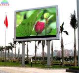 P10 Outdoor LED Billboard sur pilier pour afficher la publicité Moving (4x3m)