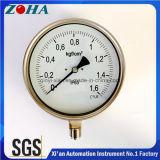 Todos os manômetros de pressão de segurança em aço inoxidável precisão 1,0%