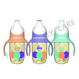 Het Voeden PPSU Fles Brede Mond met Handvat /BPA Vrije 180ml
