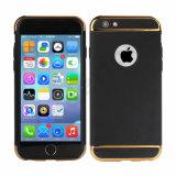 Drei Kapitel-Plastikschutzkappe-Fall für iPhone 7