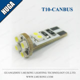 Blanco de la luz de señal del coche de T10 Canbus LED