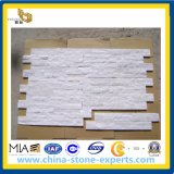 De witte Gecultiveerde Steen van de Cultuur Quartzine Steen voor de Bekleding van de Muur
